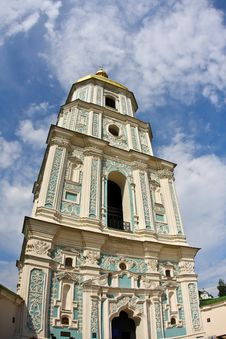 Free Bell Tower In Kiev, Ukraine Royalty Free Stock Image - 9793606