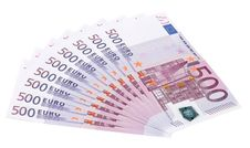 Free Euro Banknotes Royalty Free Stock Photo - 9793715