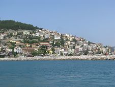 The Mediterranean Coast Stock Photography