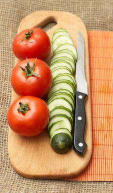 Free Fresh Vegetables And Kitchen Applience Stock Photography - 9794322