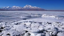 Free Ice Lake And Snow Mountains In Tibet Royalty Free Stock Photo - 9794825