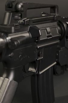 Free M4 Rifle Stock Photography - 9795912