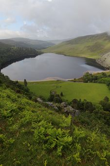 Free Lough Tay, Wicklow Ireland Stock Photos - 9796063
