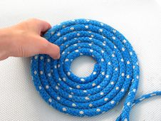 Free Blue Rope Stock Photos - 9797373