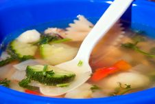 Free Vegetable Soup Stock Photo - 9797730