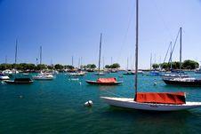 Free Chicago Harbor Stock Image - 9799201