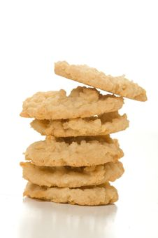 Free Isolated Coconut Cookies Stock Photos - 9799223