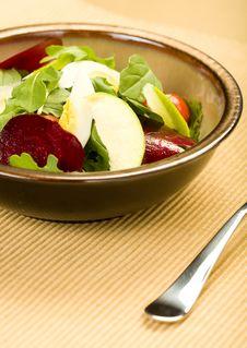 Free Arugula Salad Royalty Free Stock Photo - 9799265
