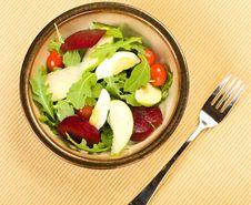 Free Arugula Salad Stock Photography - 9799312