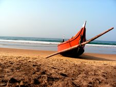 Free Boat And Sea Royalty Free Stock Photo - 9799625