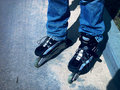 Free Roller-blades Stock Image - 985711