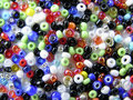 Free Chart From Coral Beads Royalty Free Stock Photo - 985815