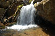 Free Shenandoah NP Waterfall Royalty Free Stock Photography - 981777