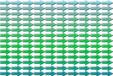 Arrows Horizontal 02 Stock Images
