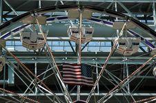 Free American Ferris Wheel Royalty Free Stock Image - 982656