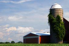 Free Illinois Farm House Stock Photo - 983150