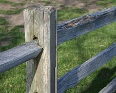 Free Fence Post Stock Image - 983511