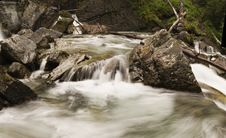 Free Cascading Stream Royalty Free Stock Photo - 983705