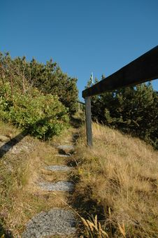 Free Stairs On Hill Stock Images - 984234