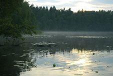Free Sunset On The Lake Stock Image - 984311