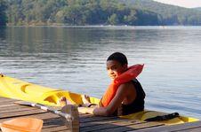 Free Teenager At The Lake Stock Photos - 984383