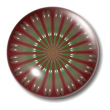 Christmas Button Orb Stock Photo