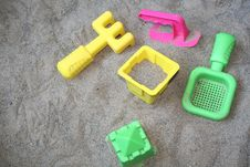 Free Summer Toys Royalty Free Stock Image - 986726