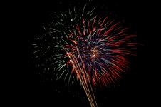 Free Fireworks In The Florida Keys Royalty Free Stock Photography - 987647