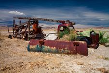 Free Old Truck Wreck Royalty Free Stock Images - 987699