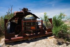 Free Old Truck Wreck Stock Photo - 987700