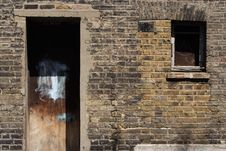 Free Burnt Building Stock Photography - 988172