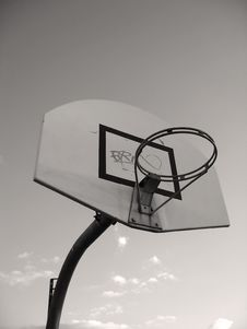 Free Basketball Hoop Stock Images - 988864