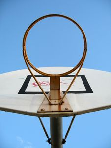Free Basketball Hoop Stock Images - 988874