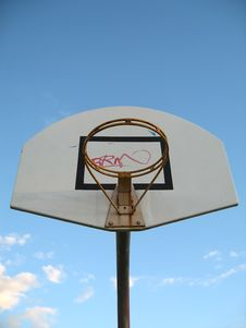 Free Basketball Hoop Stock Photo - 988890