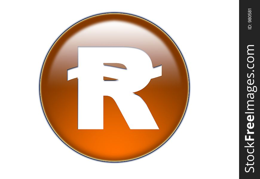 Riyal Money Symbol Gl O