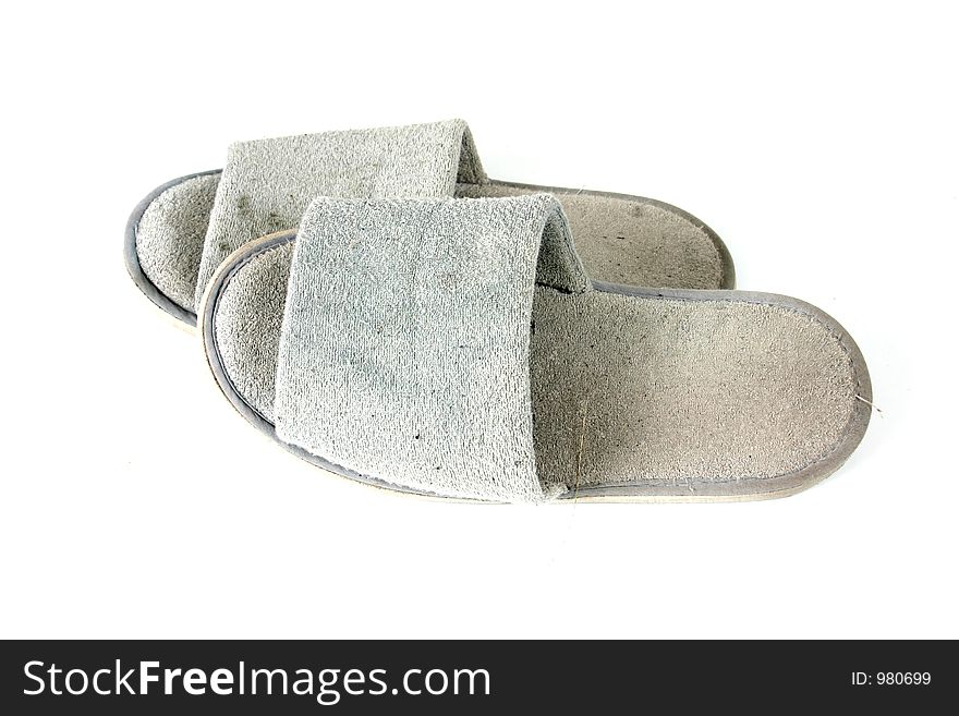Dirty old slippers