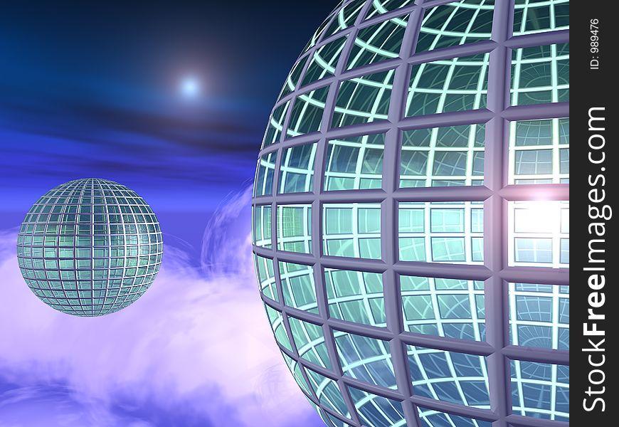 Globe City in the Skies