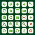 Free Set Of Icons Stock Images - 9800954