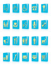 Free Vector Icons Royalty Free Stock Image - 9808866