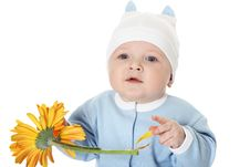 Free Cute Baby Boy Stock Photography - 9800722