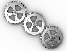 Free Iron Gears Stock Images - 9800774