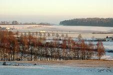 Free Winter Landscape. Stock Photography - 9800872