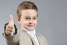 Free Ok Boy Royalty Free Stock Images - 9800959