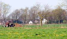 Free Farm In Oirschot, Netherlands Stock Photo - 9801430