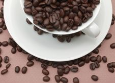 Free Coffee Beans Royalty Free Stock Photography - 9801437