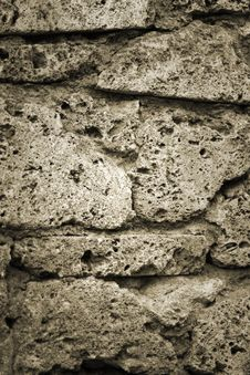 Free Stone Wall Royalty Free Stock Photos - 9801618