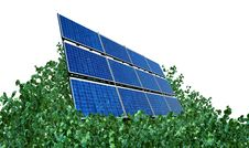 Free Solar Panel Royalty Free Stock Photo - 9801705