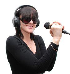 Free Singer Royalty Free Stock Photos - 9802538