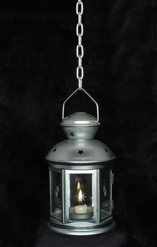 Free Lamp With Candle Royalty Free Stock Images - 9803359
