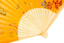 Free Chinese Fan Royalty Free Stock Photography - 9803427